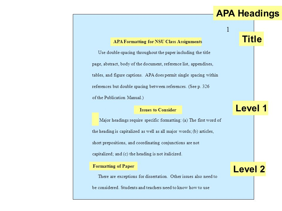 APA Formatting Preparing for Final Review - ppt video online download
