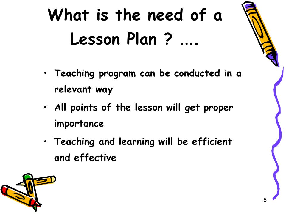 What Is A Lesson Plan And Why Is It Important Needs And Importance - what is a lesson plan and why is it important