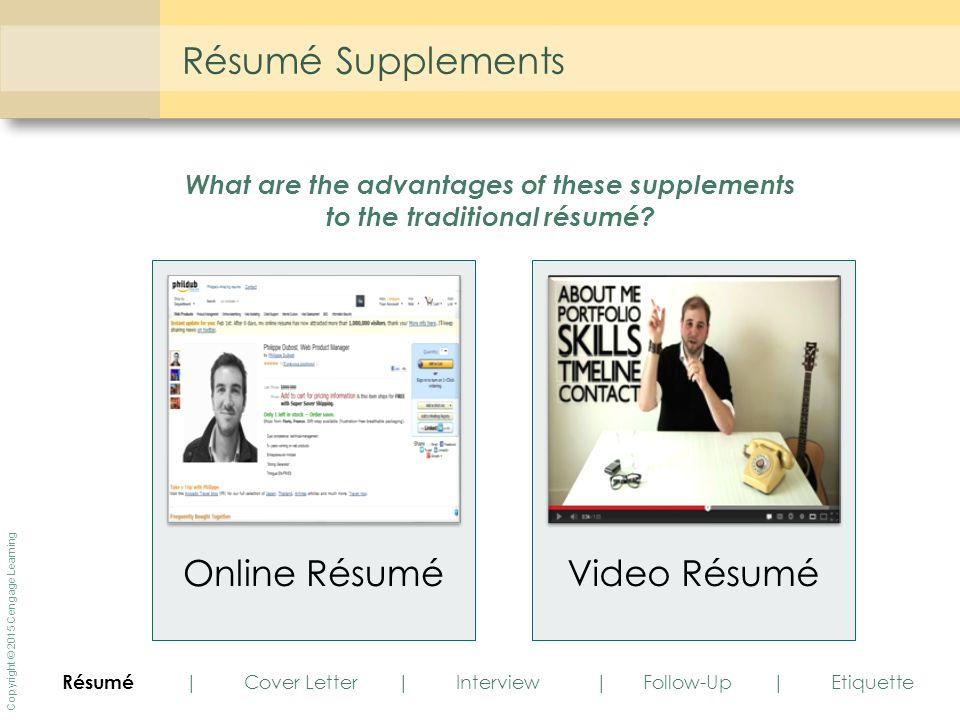 Employment Communication - ppt download - Video Resume Website