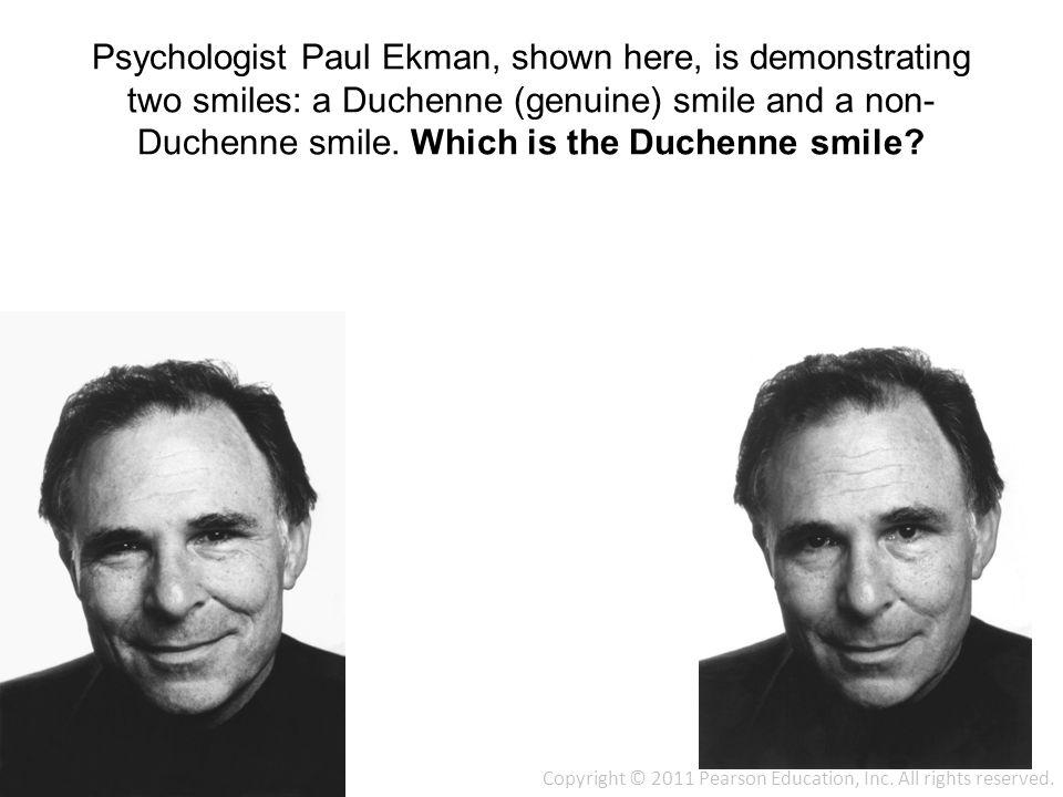 Duchenne Smile Psychology Psychology: From Inquiry To Understanding 2/e - Ppt Download