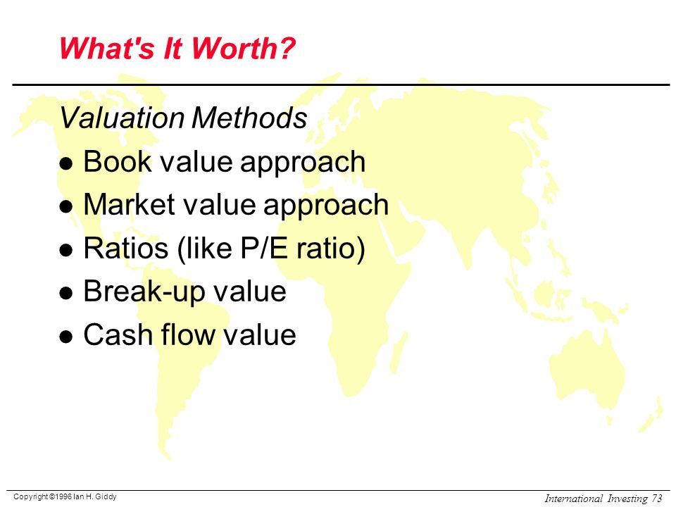 Discount cash flow valuation of upstream Research paper Academic - discounting cash flow