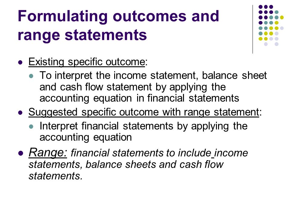 Income Statement Inclusions Financial Statements And Should Be - income statement inclusions