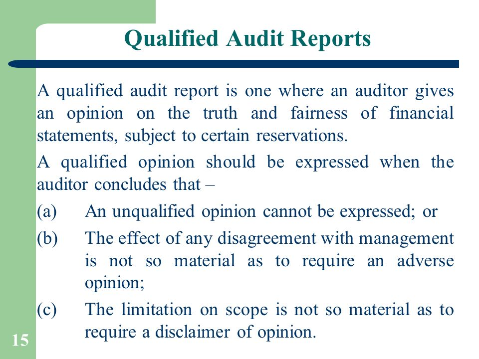 AUDIT REPORTS By CA Pankaj Garg - ppt video online download - audit report