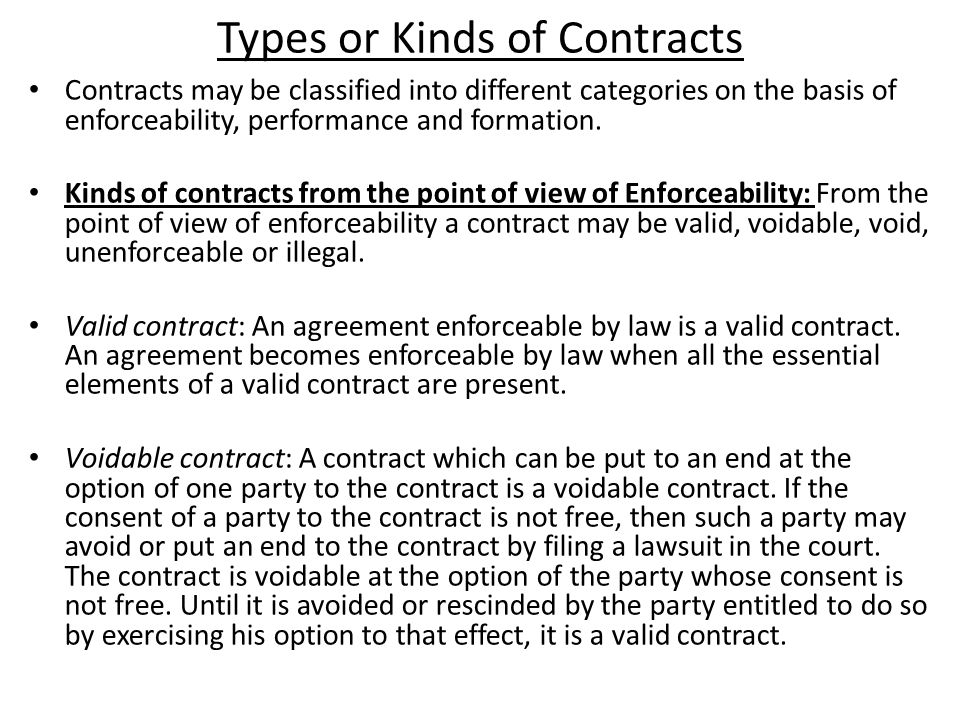Kinds Of Agreement Image collections - Agreement Letter Format