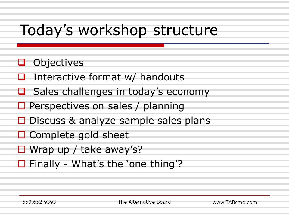 Welcome to our sales workshop Writing a Sales Plan - ppt video - sample sales plan