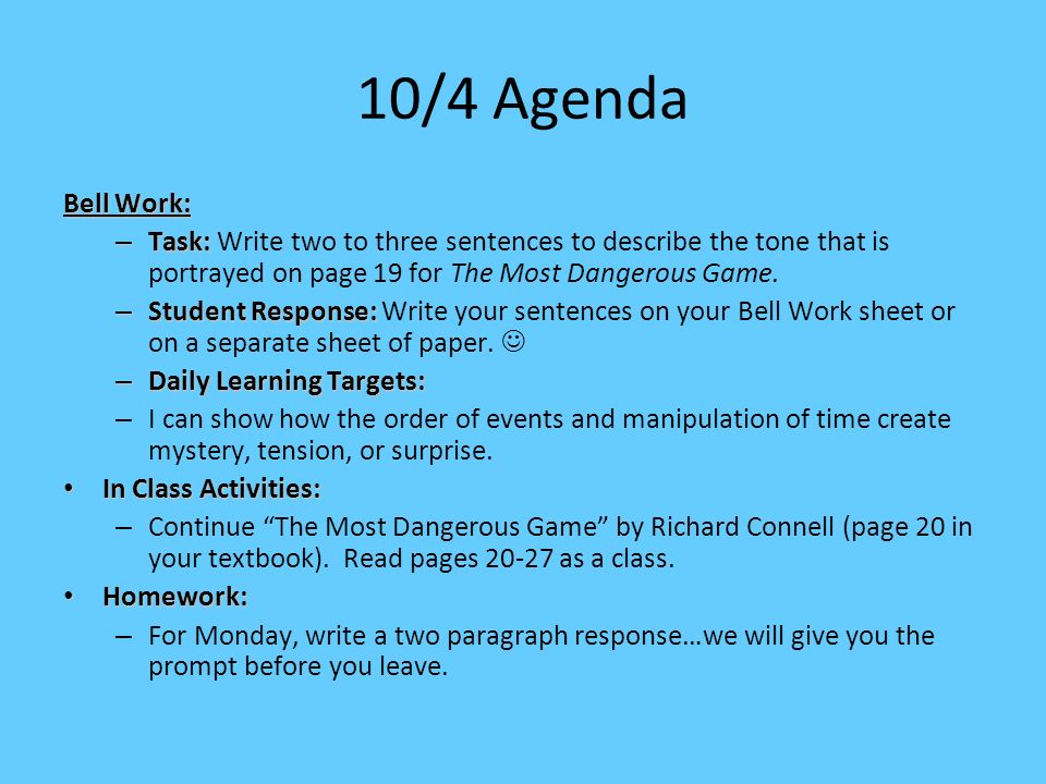 Language Arts 2 Daily Agenda - ppt download - how to create a agenda