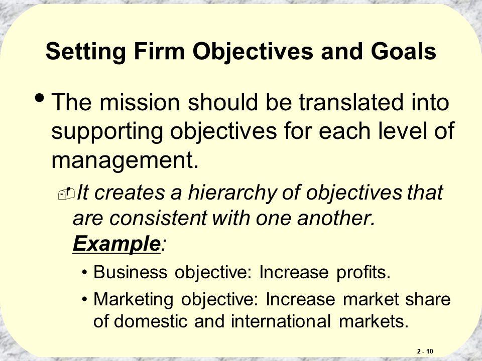 Company and Marketing Strategy Partnering to Build Customer - marketing objective example
