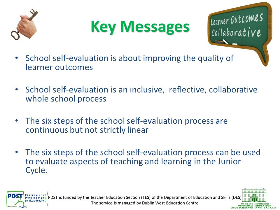 School Self \u2013 Evaluation - ppt download - Self Evaluation