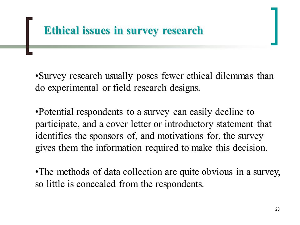 Chapter 7 Survey Research - ppt video online download - survey cover letter