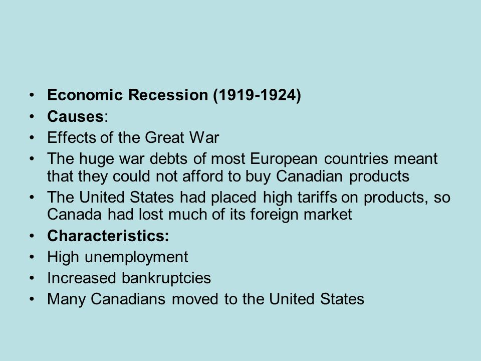 Causes of the Great Depression - ppt video online download - the great depression causes and effects