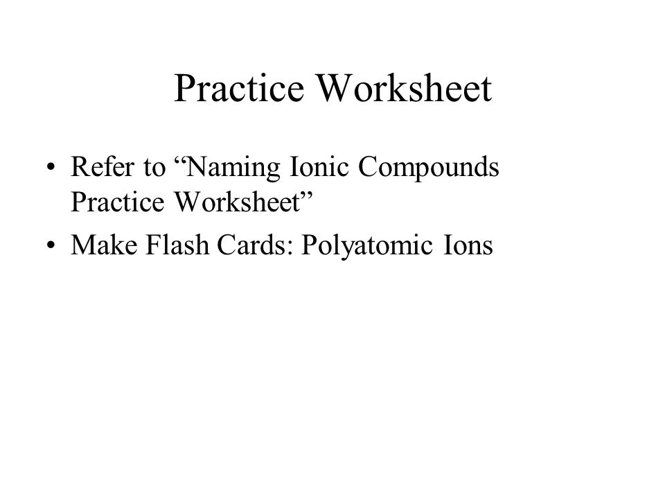 Honors Chemistry Oct 30 Ppt Download