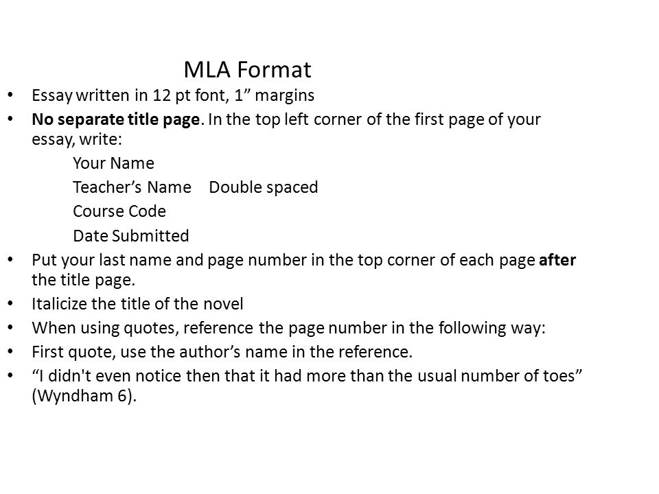 mla format essay title page essay example mla format template after