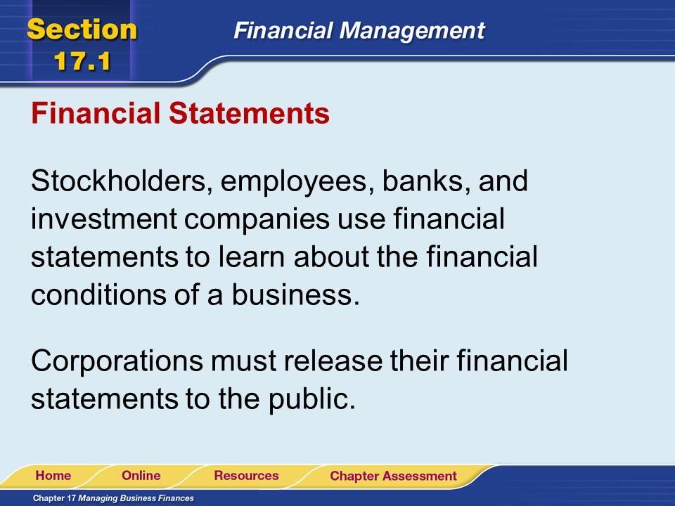 essential financial statements business - Teacheng