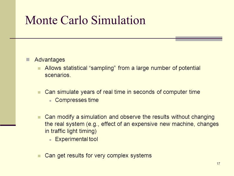 Monte Carlo Simulation Template Monte Carlo Simulation Templatemonte