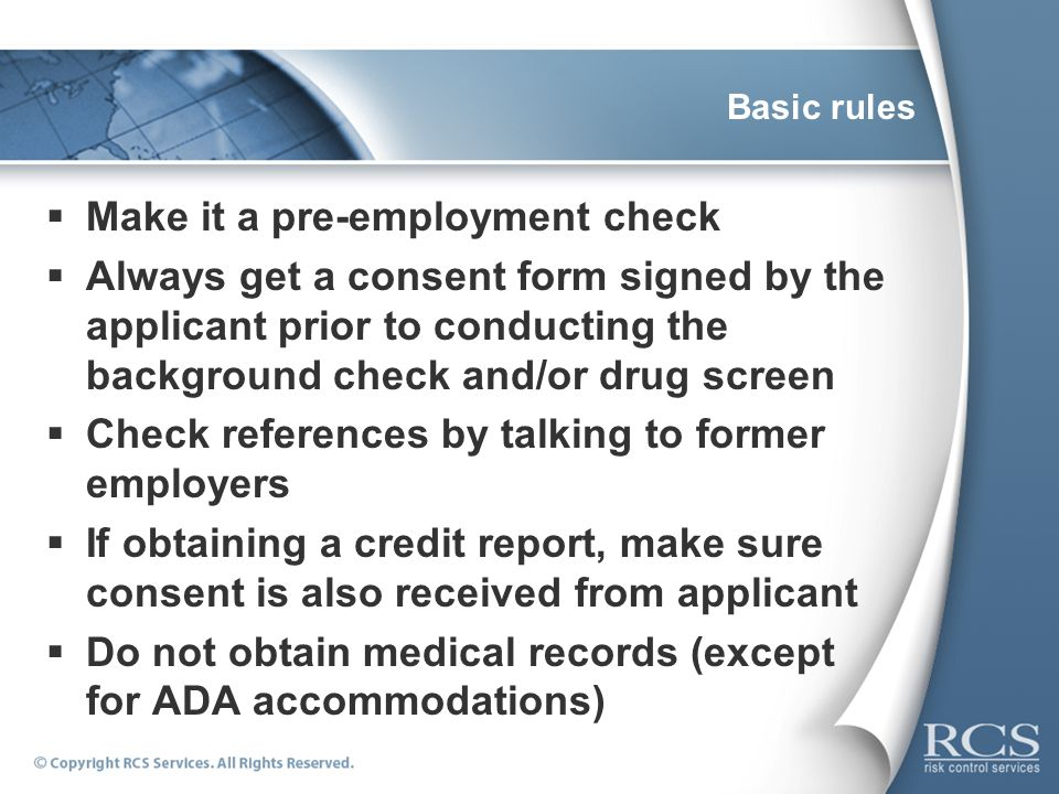 Negligent Hiring\/ Negligent Retention - ppt video online download - background check consent forms