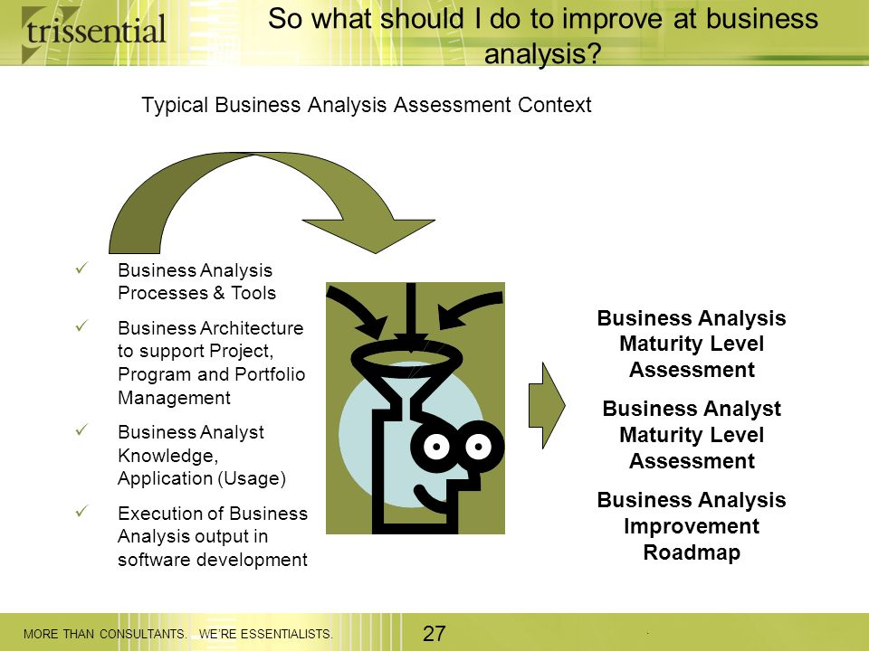 Improving Business Analysis and Requirements Engineering - ppt - business analysis
