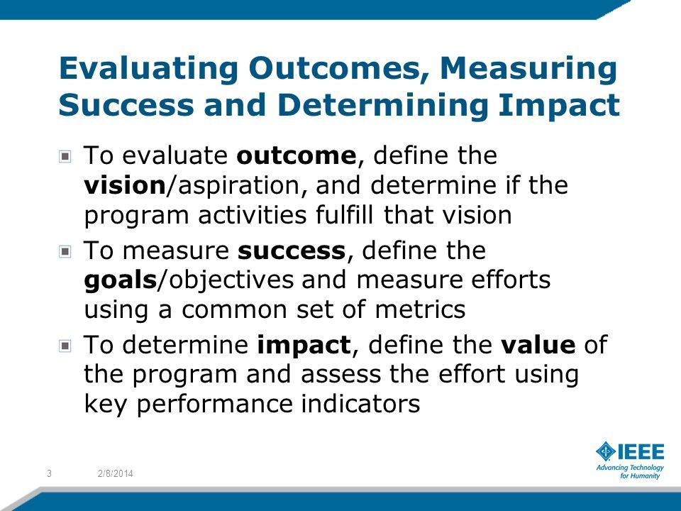 how do you determine or evaluate success - Goalgoodwinmetals - how do you evaluate success