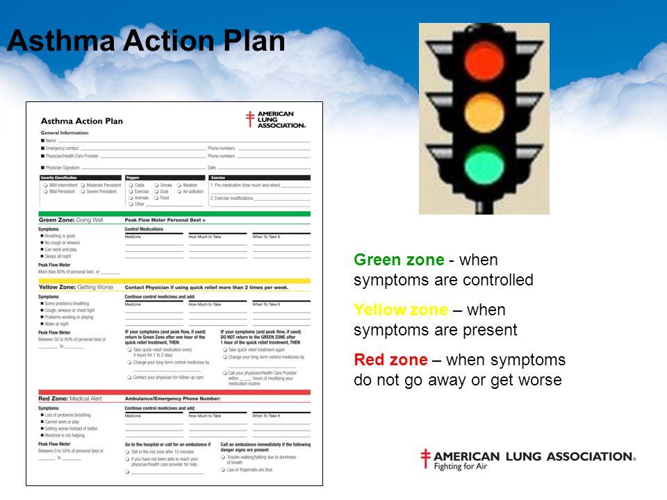 Asthma Action Plan cvfreepro - asthma action plan