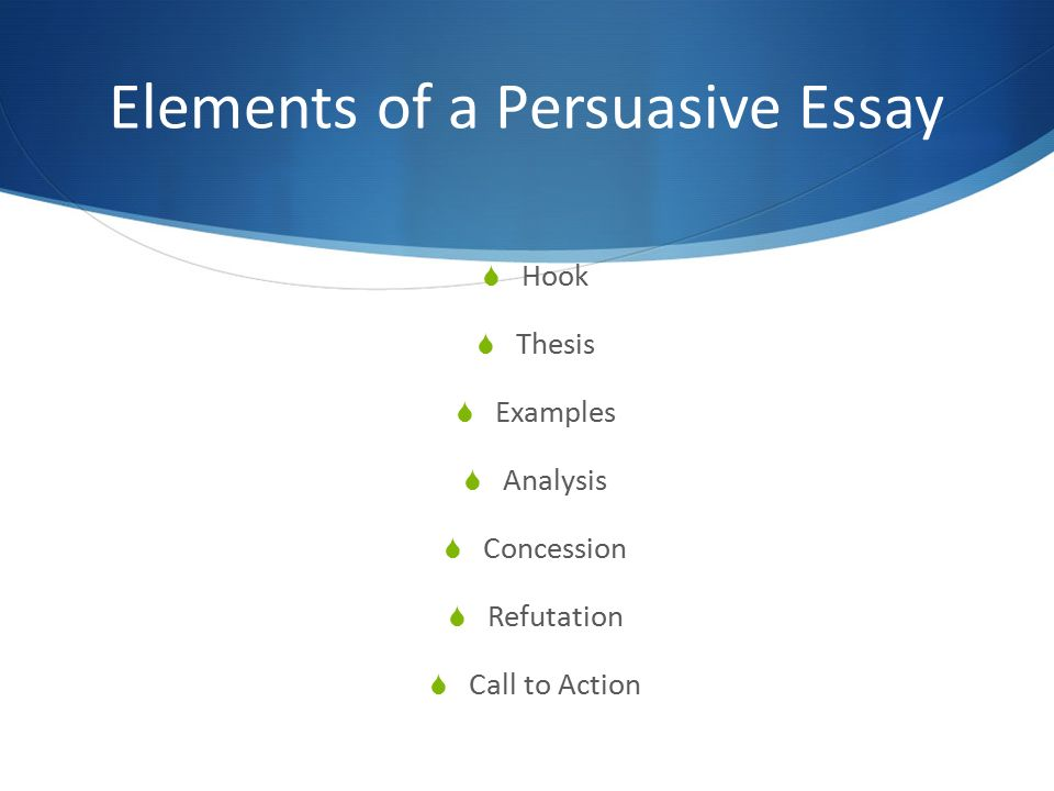 how to write a hook for a persuasive essay persuasive essay format