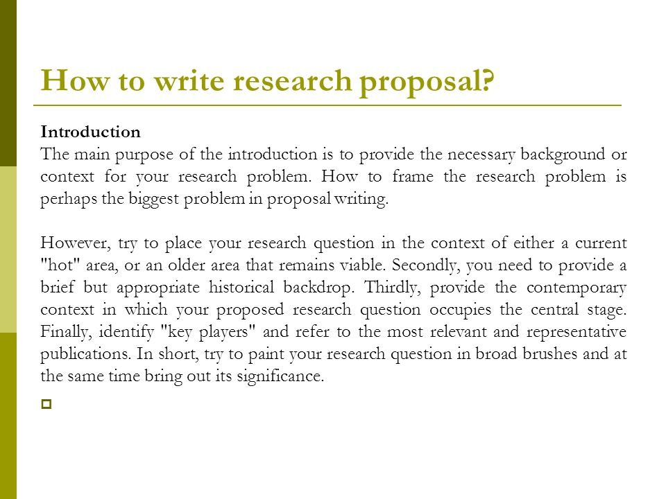 Research Proposal DRTMKATUNZI 4 August ppt video online download - what is the research proposal