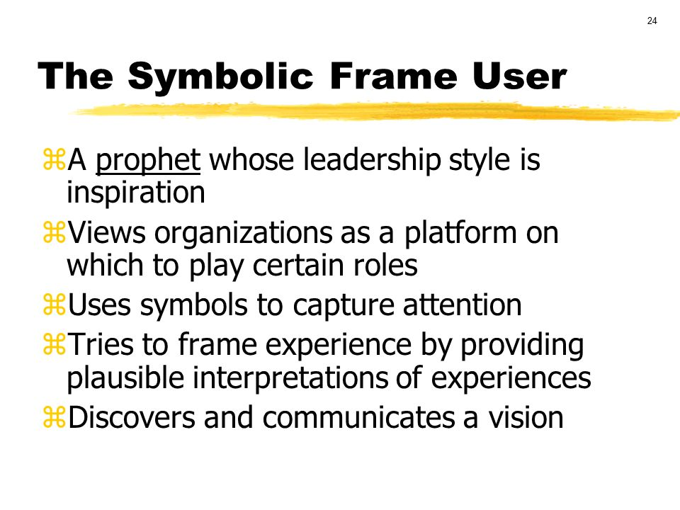 Four Frames Of Leadership - Minimfagencyreframing organizations ...
