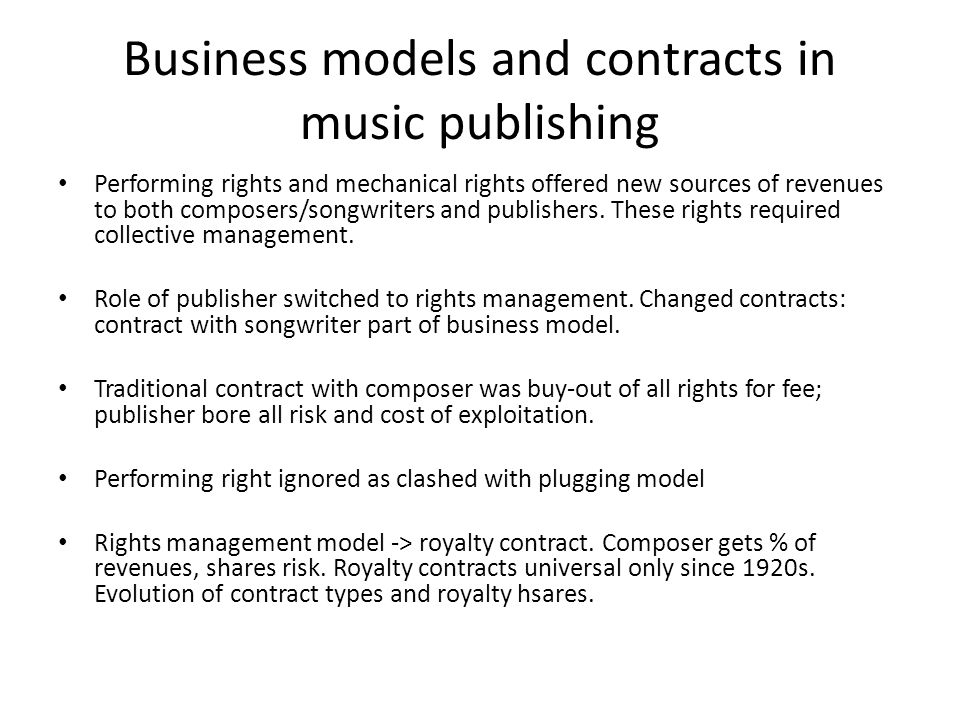 Music Publishing Contract Template music contract template wedding - music contract templates