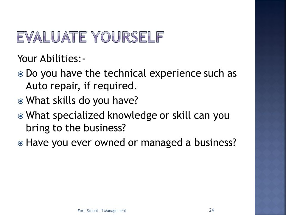 what skills can you bring - Towerssconstruction