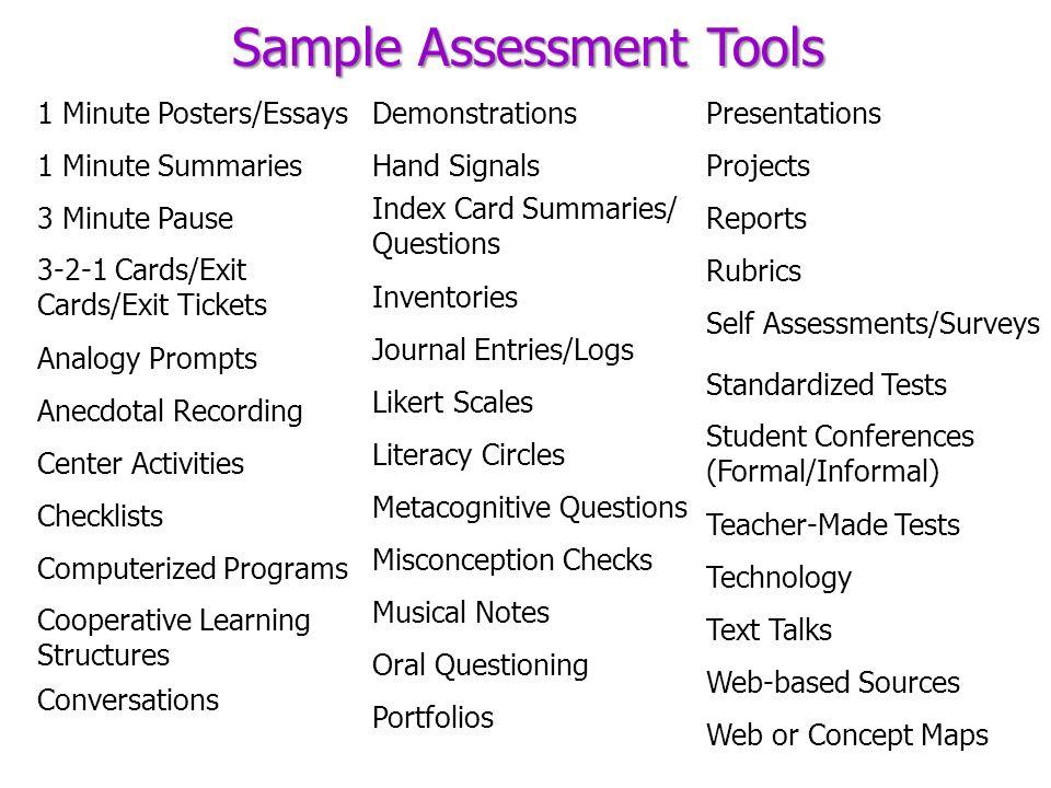 rubrics for presentations
