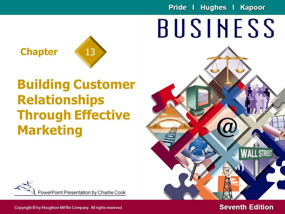 Building Customer Relationships Through Effective Marketing - ppt - marketing presentation