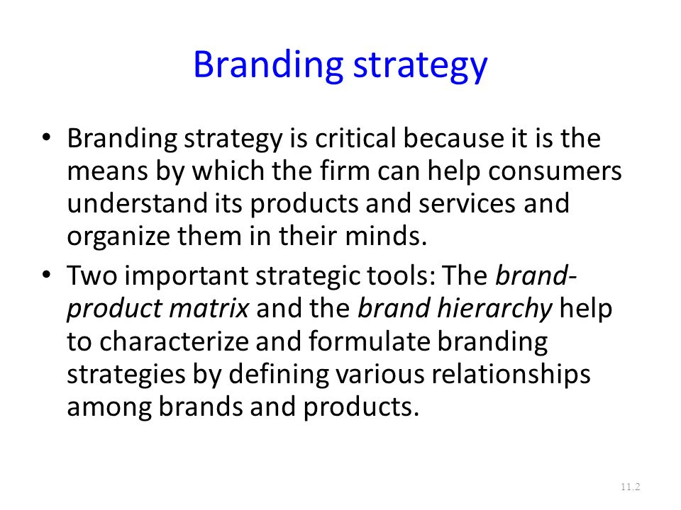 DESIGNING AND IMPLEMENTING BRANDING STRATEGIES - ppt video online - branding strategy