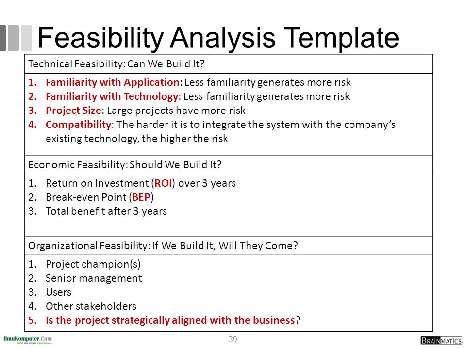 Real Estate Feasibility Study Template - Costumepartyrun
