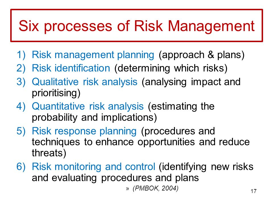 Balancing qualitative and quantitative risk management College