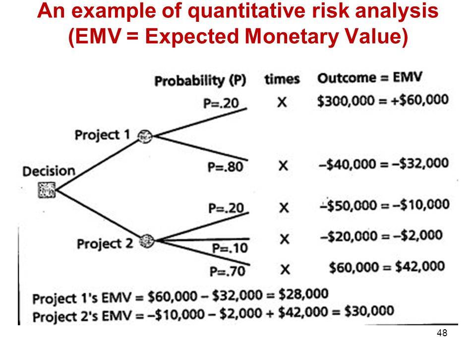 Pm 584 quantitative risk analysis Research paper Writing Service