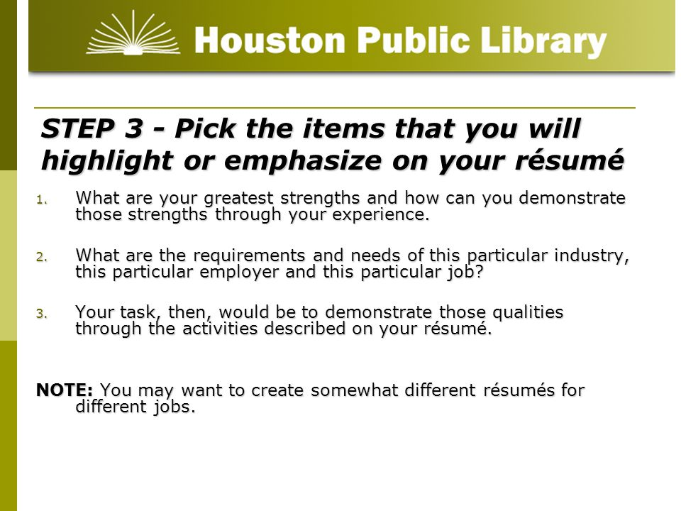 Résumé Writing for beginners - ppt video online download