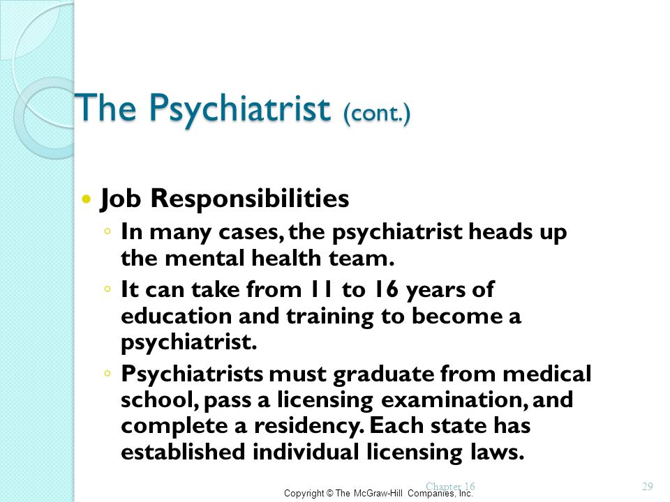 psychiatrist career and employment outlook psychiatrist and patient - psychiatrist job description