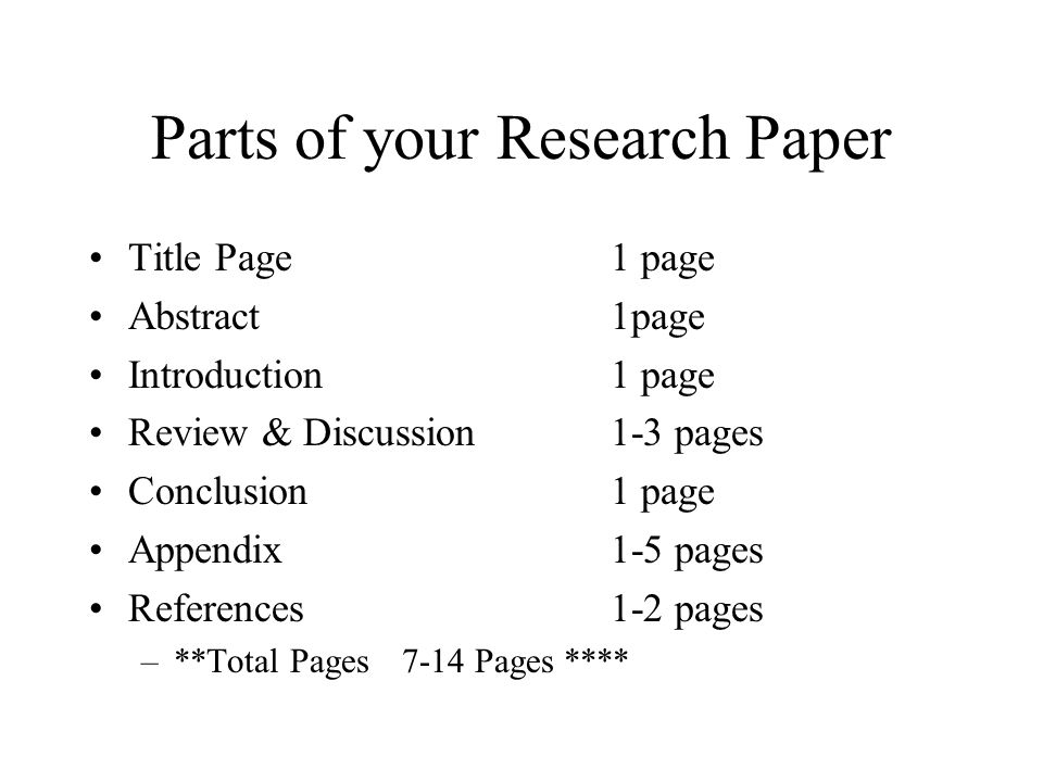 Science Fair Research Paper - ppt video online download - research paper
