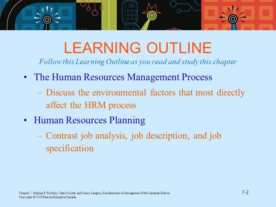 Human Resource Management - ppt video online download - human resources job description