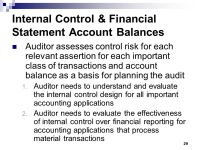 INTERNAL CONTROL OVER FINANCIAL REPORTING - ppt video ...