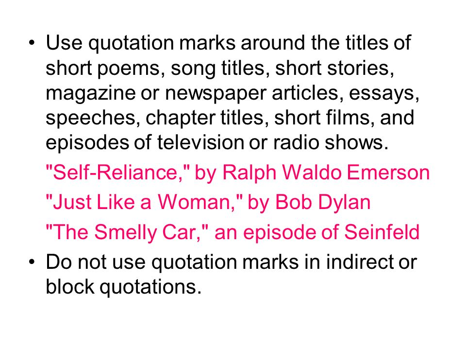 Quoting Title Of Poem In Essay