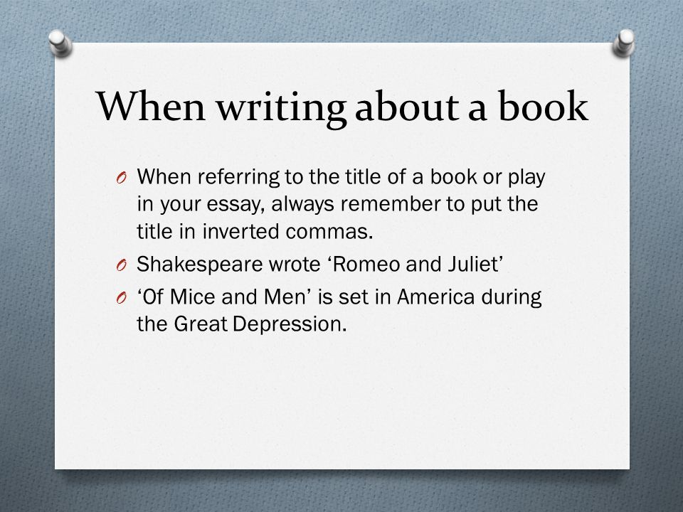 Do You Italicize Book Titles? And Other Title Conundrums - The Write