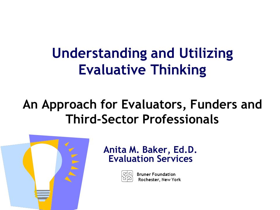 Working Definition of Program Evaluation - ppt download - Program Evaluation
