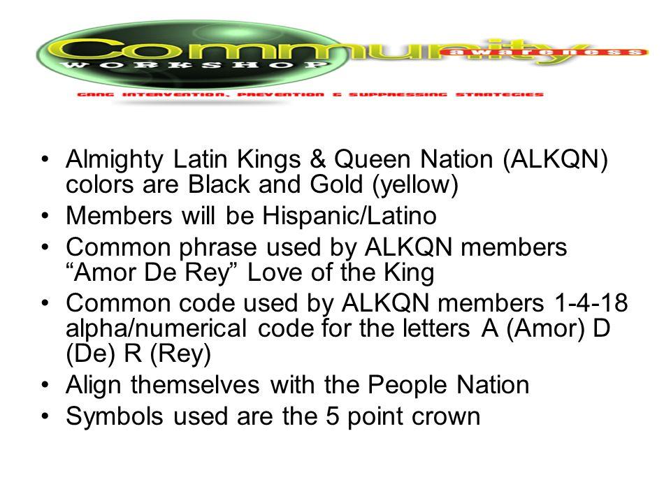 Latin King Symbols 55796 Trendnet