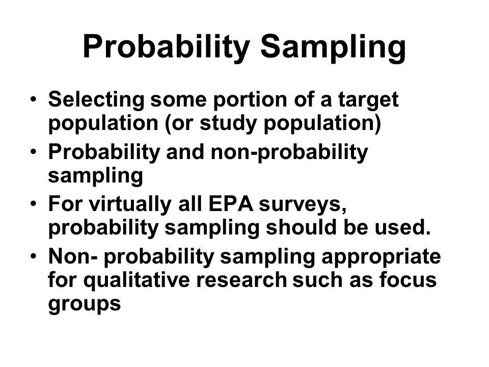 PROBABILITY SAMPLING DEFINITION IN RESEARCH - Auto Electrical Wiring