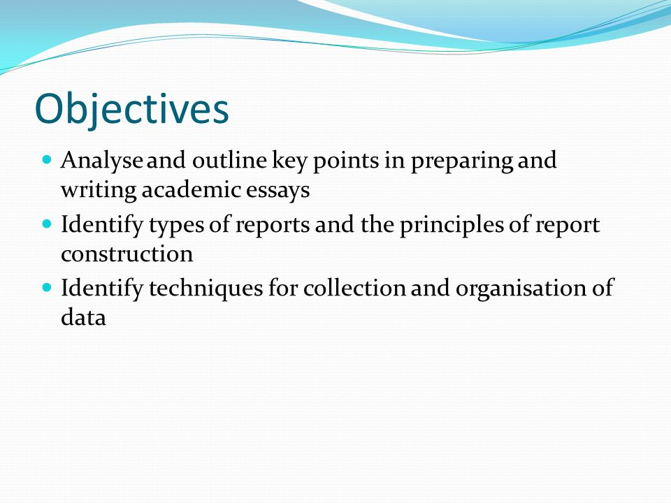 Academic Essays  Report Writing - ppt download