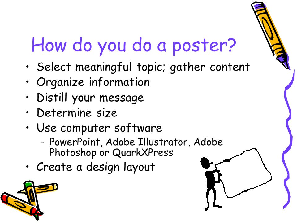 Poster Presentations What, Why, Where, When and How - ppt video - how to do a poster in powerpoint