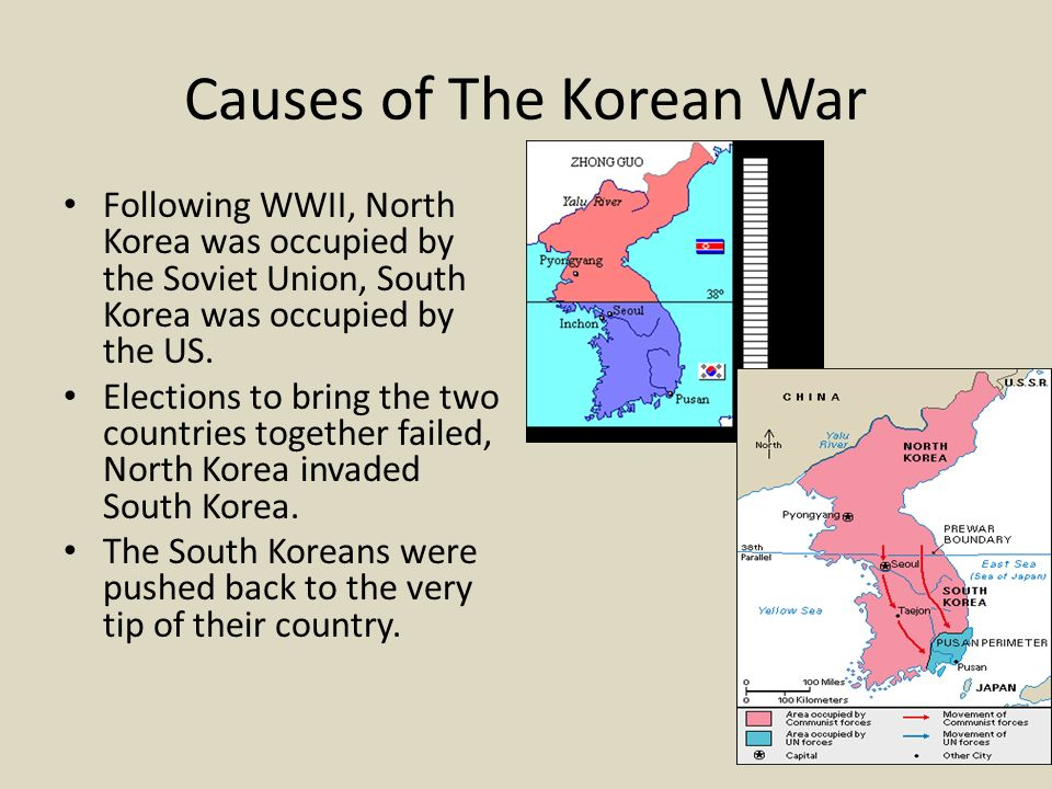 what caused the korean war