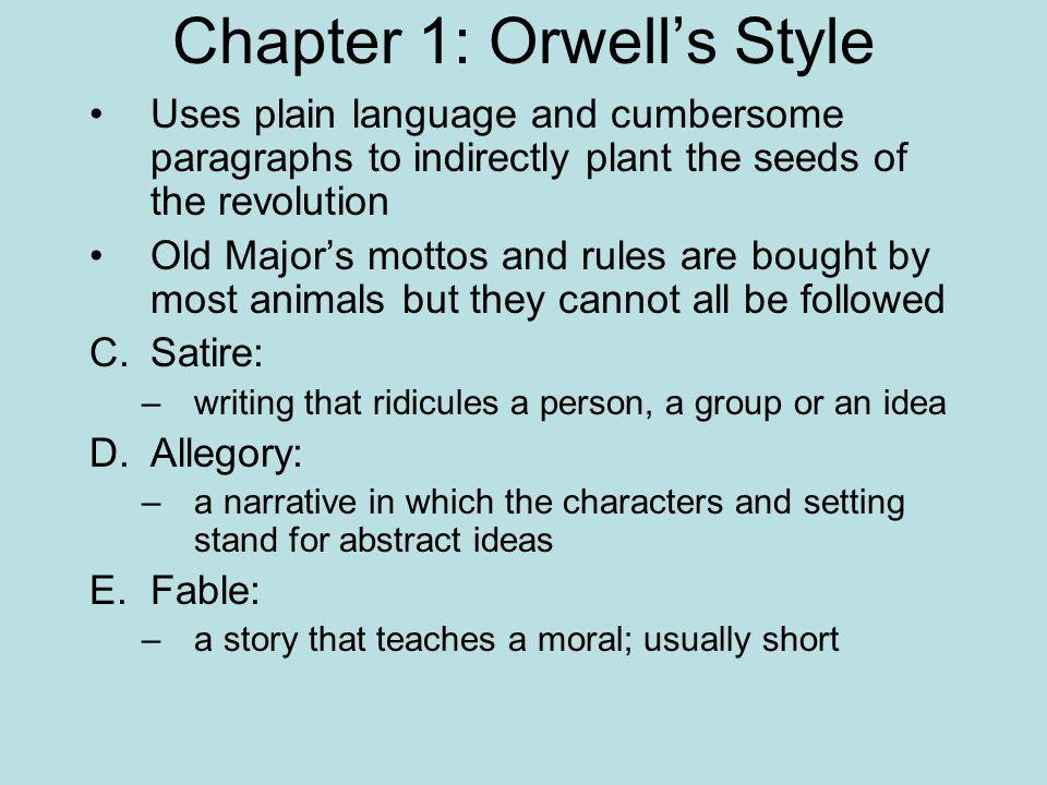 George Orwell 1984 Language Style Columbia Business