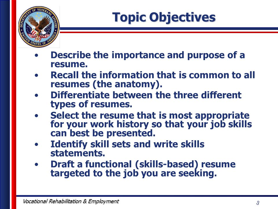 Resume Writing Workshop - ppt video online download - 3 types of resumes