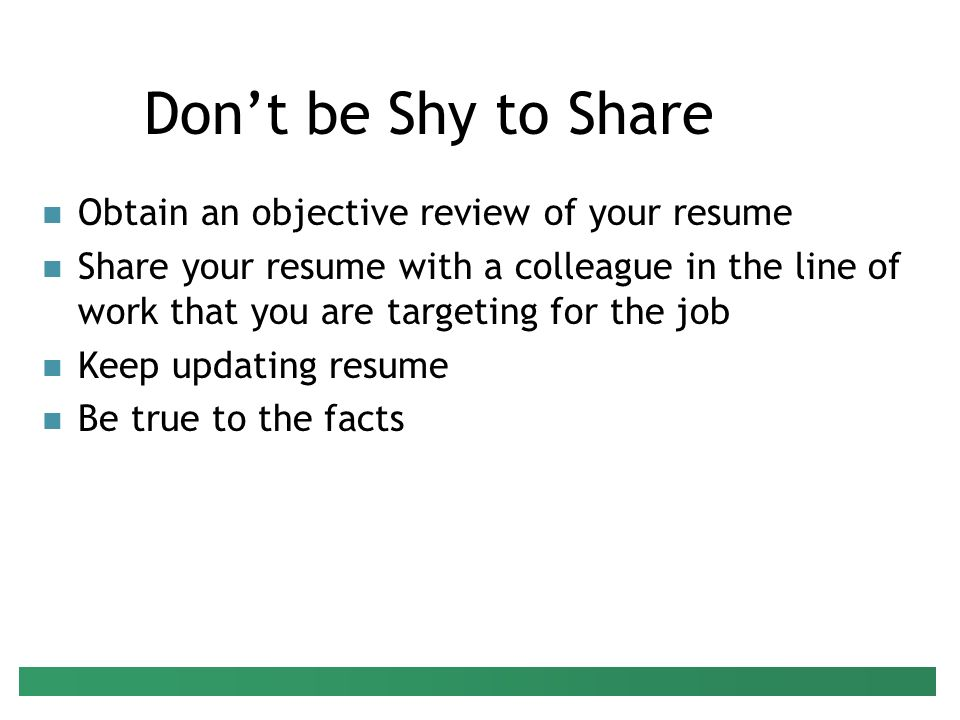preparing your resume presenter peter g raeth phd ppt download updating your resume