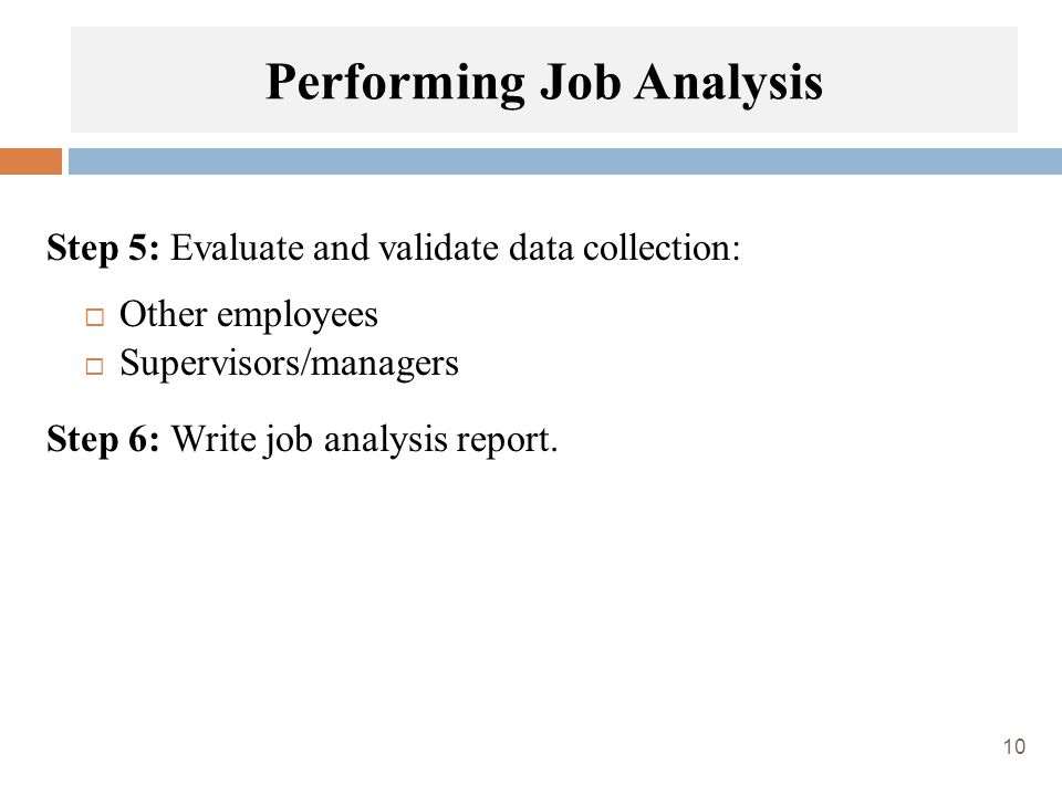 Chapter 5 Job Analysis - ppt video online download - job analysis report